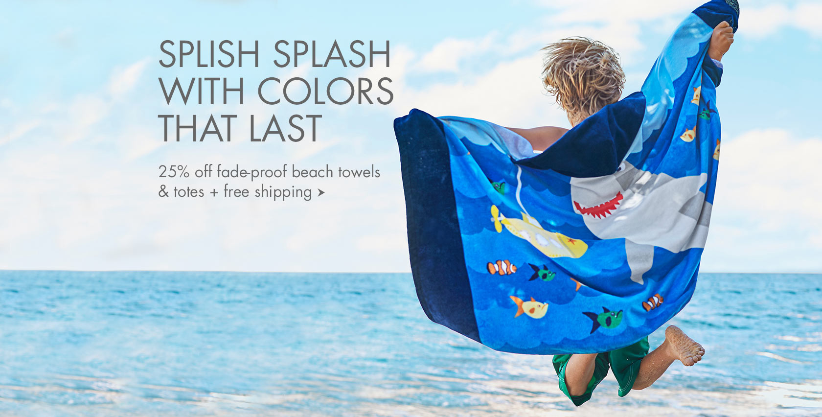 Beach Towels & Totes Sale