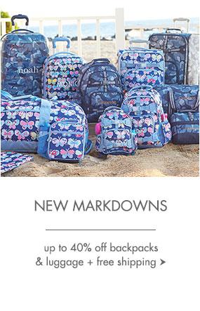Backpacks Markdowns