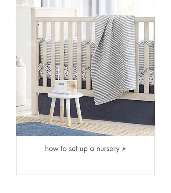 How to set up a nursery