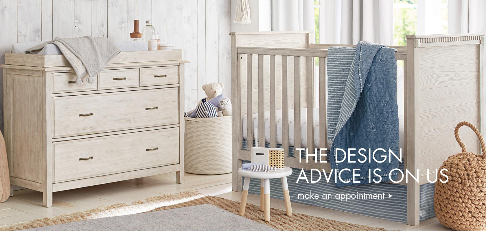 The design advice is on us