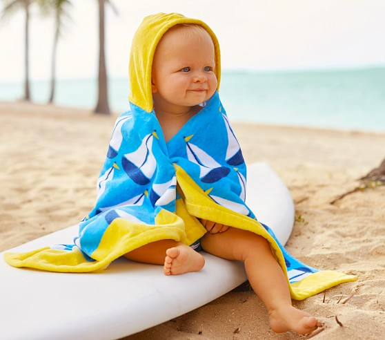 Cute baby beach wraps
