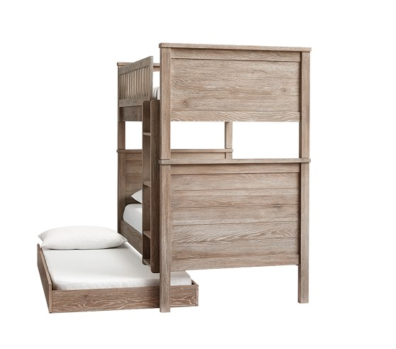 Charlie Twin Over Twin Bunk Bed Pottery Barn Kids