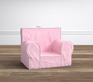 My First Anywhere Chair® - Pin Dot Light Pink