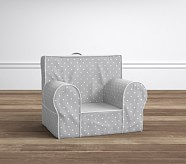 My First Anywhere Chair® - Pin Dot Gray