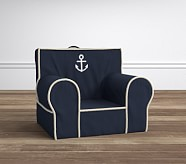 Navy Anchor with Rope Pipe Anywhere Chair®