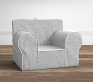 Oversized Anywhere Chair® - Pin Dot Gray