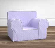 Oversized Anywhere Chair® - Pin Dot Lavender