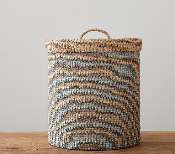 Blue Abaca Hamper
