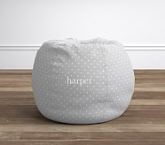 Anywhere Beanbag® - Pin Dot Gray