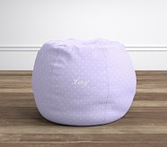 Anywhere Beanbag® - Pin Dot Lavender