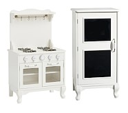 Farmhouse Fridge & Oven Set