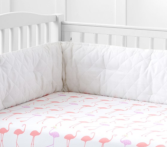 Coco Flamingo Crib Fitted Sheet