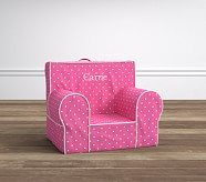 My First Anywhere Chair® - Pin Dot Bright Pink