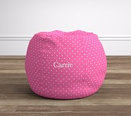Anywhere Beanbag® - Pin Dot Bright Pink