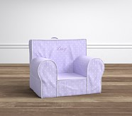 Lavender Pin Dot Anywhere Chair