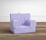 Lavender Mini Dot My First Anywhere Chair®