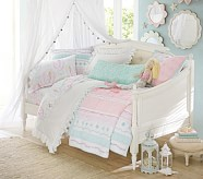 Monique Lhuillier Ethereal Lace Quilted Bedding Pottery