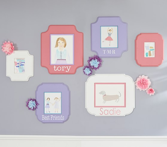 Harper Personalized Frame Pottery Barn Kids