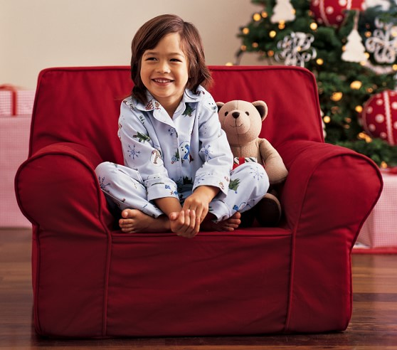 Red Anywhere Chair 174 Pottery Barn Kids