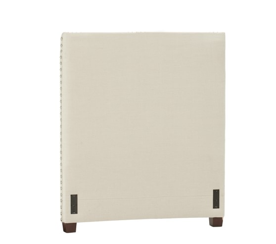 Raleigh Upholstered Square Bed Amp Headboard Pottery Barn Kids