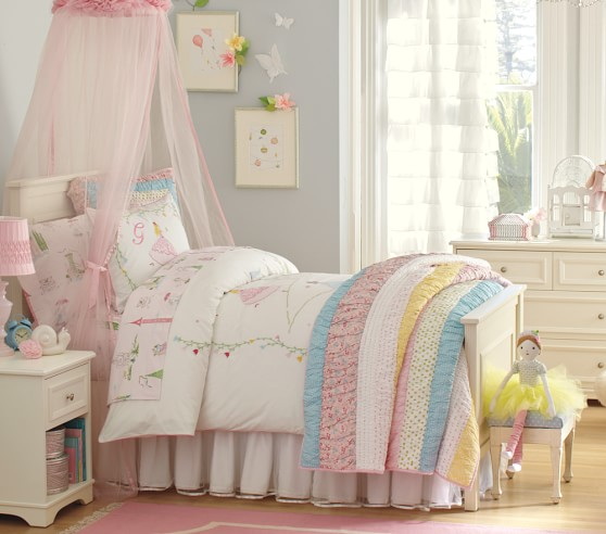 Grace sheet set pottery barn kids for Pottery barn kids rooms