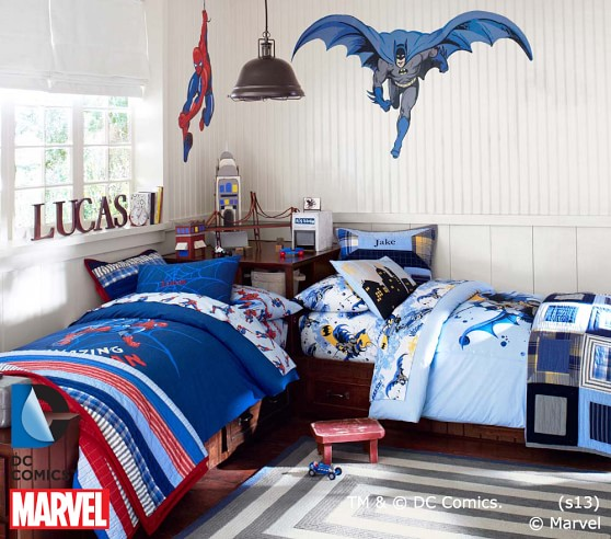 batman toddler bedroom set 2