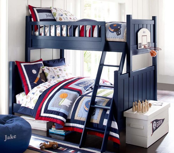 Jake Quilted Bedding Pottery Barn Kids