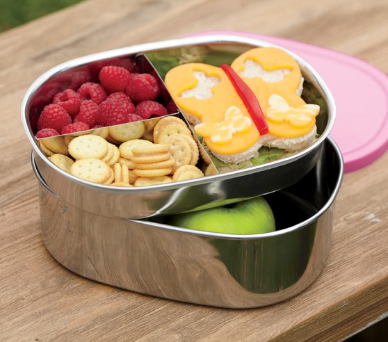 Stainless Steel Bento Boxes Pottery Barn Kids
