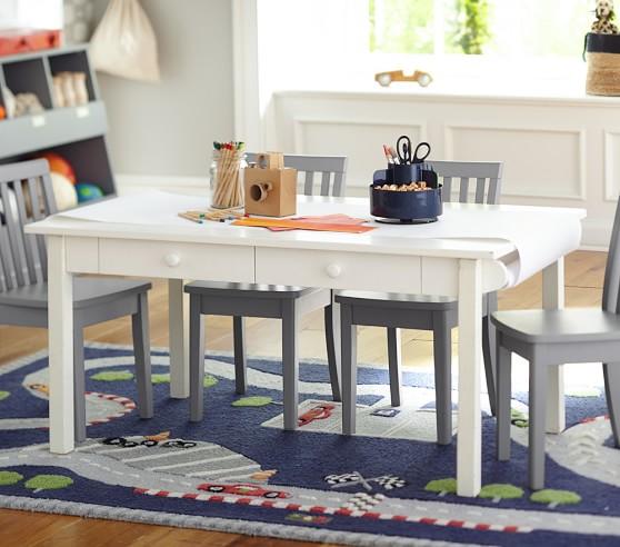 Carolina Craft Table Amp 4 Chairs Set Pottery Barn Kids