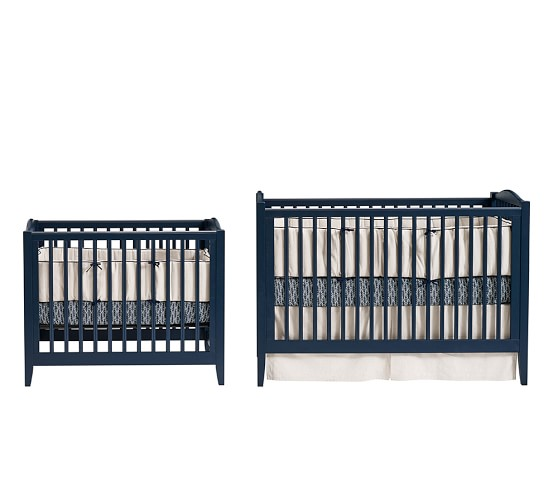 Emerson Mini Crib & Mattress Set | Pottery Barn Kids