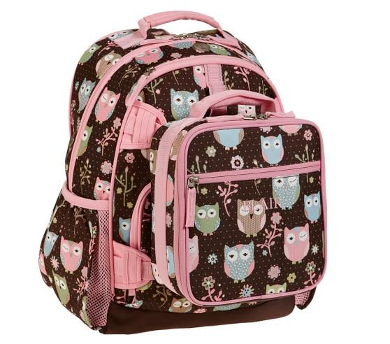 Mackenzie Lavender Butterfly Backpacks Pottery Barn Kids