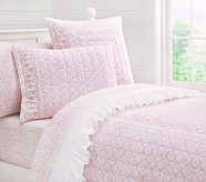 Isabelle Quilt, Twin, Pink