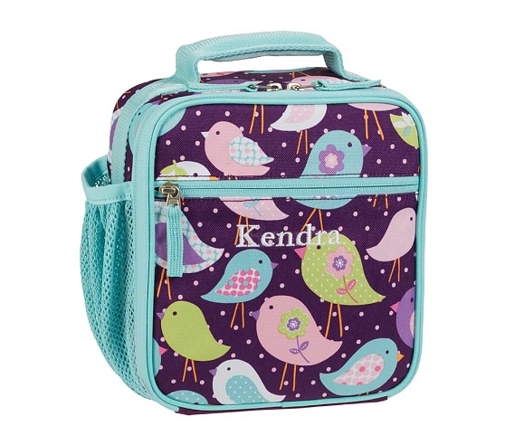 Mackenzie Plum Bird Classic Lunch Bag