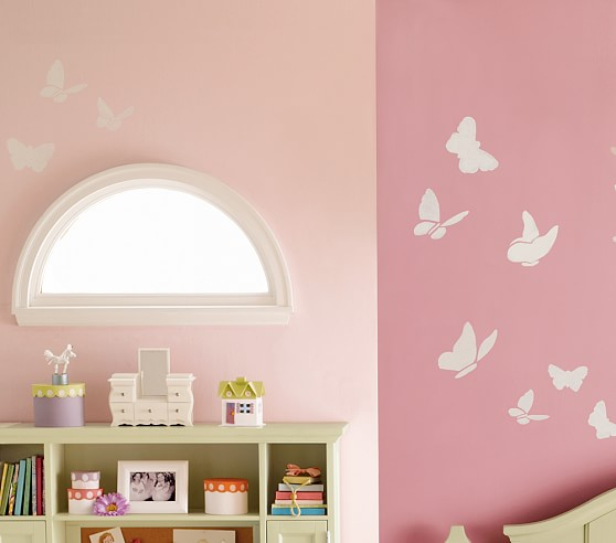 Butterfly Silhouette Decals
