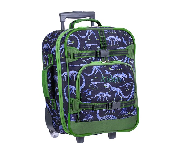 Mackenzie Blue Dino Small Luggage