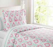 Trisha Duvet Cover, Twin, Pink