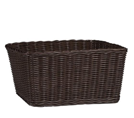 XL Sabrina Basket, Espresso