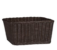 XL Sabrina Basket, Espresso, Set of 2