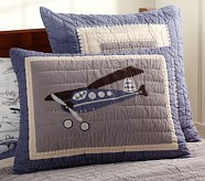 Taking Flight Standard Quilted Sham