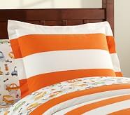 Rugby Standard Sham, Orange