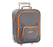 Fairfax Gray/Orange Small Luggage, Dino