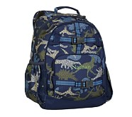 Navy Dino Large Backpack