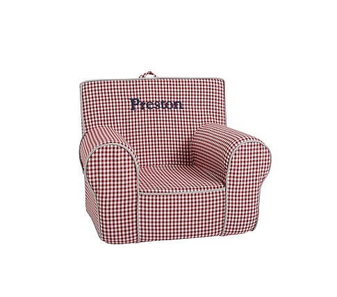 Anywhere Chair Slipcover, Red Buffalo Check