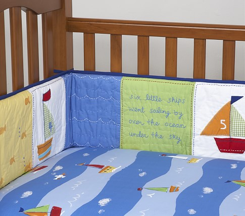Baby Boats Crib Fitted Sheet