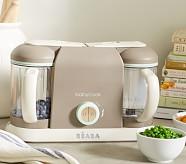 Béaba Pro 2X Baby Food Maker, Latte/Mint