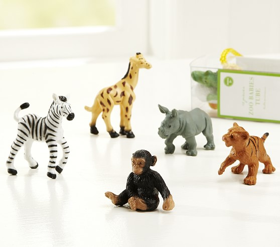 Zoo Tube, Includes 12 Figurines