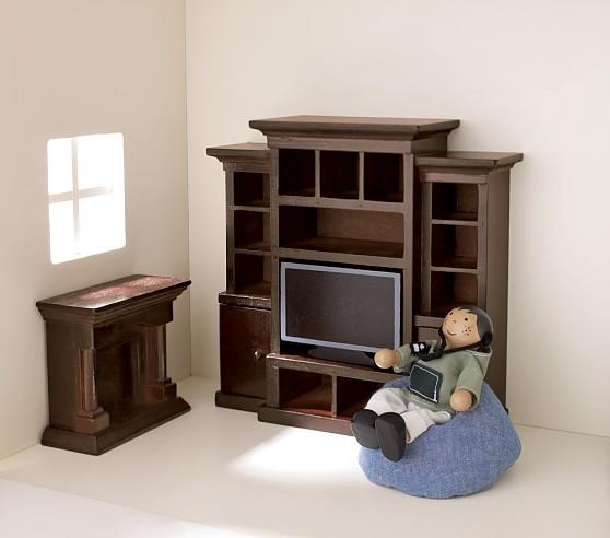 Dollhouse Family Room Set