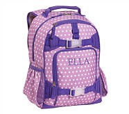 Mackenzie Lavender Dot Backpack, Small