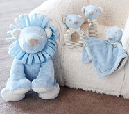 Nursery Lion Plush Set