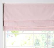 "Twill Roman Shade 26 x 64"" Panel Pink"